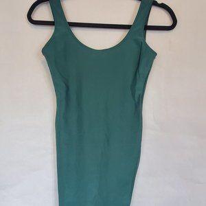 American Apparel Green Mini Dress
